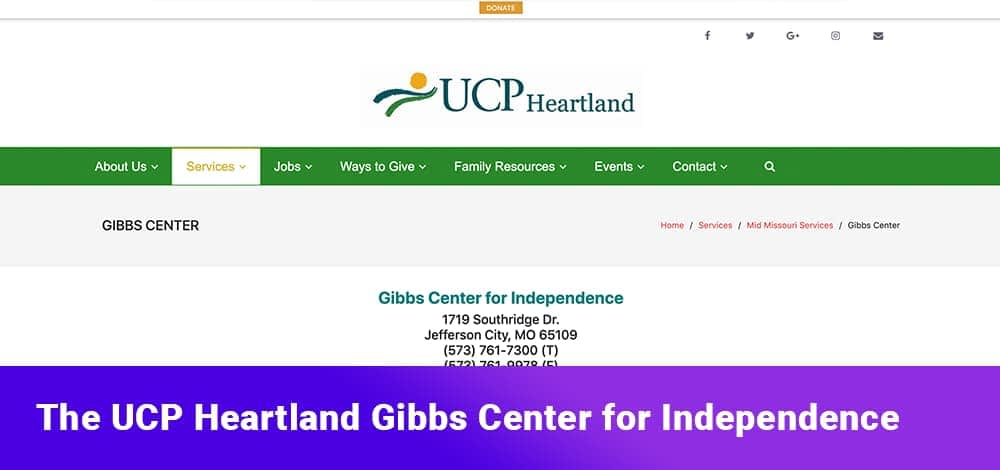 The UCP Heartland Gibbs Center for Independence